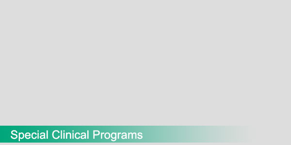 Special Clinical Programs